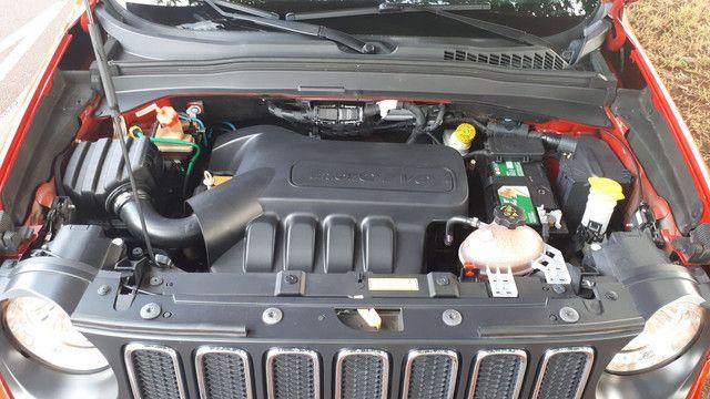 Jeep Renegade Longitude couro revisado impecável! - Foto 12