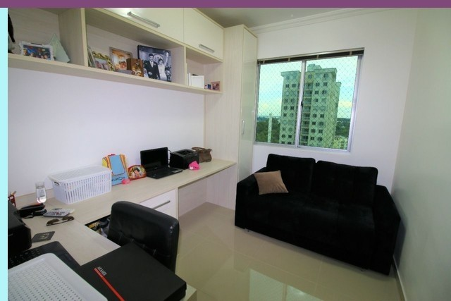 Apartamento 3 Quartos Condomínio weekend Club Ponta Negra - Foto 10