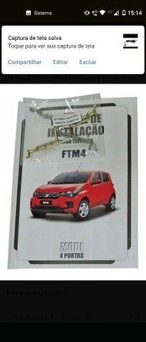 Kit Trava Elétrica Para Fiat Mobi 4 Portas Ftm4 Mn  Tragial - Foto 5