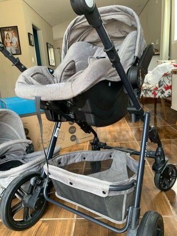 Carrinho e bebê conforto Cosco - Foto 6