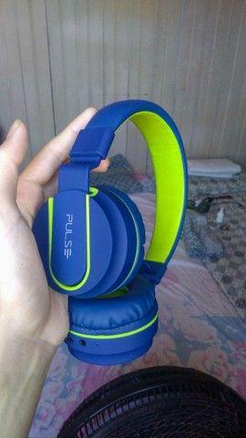 Vendo Fone PULSE - On Ear Stereo Áudio Bluetooth - PH218 (Novo) - Foto 2