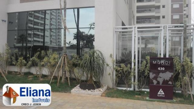 Apartamento 135m² - Condomínio Mundi - Espaço Cerâmica - Foto 3