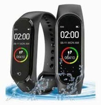 M4 Smartwatch Fitness exercicios +1 Pulseira Reserva - Pronta entrega - Foto 3