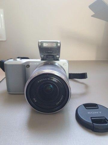 Máquina de fotografia Sony NEX -3 E 18-55mm 14.2 Mega pixels