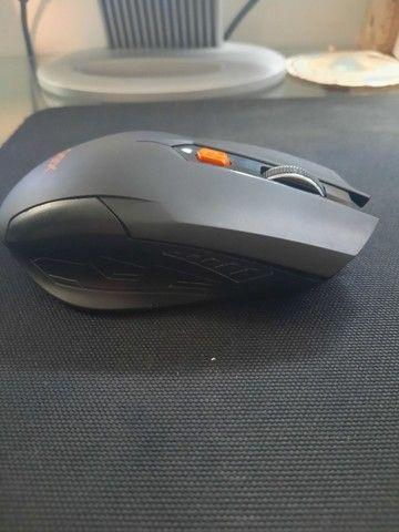 Mouse Gamer sem fio com defeito no scroll - Foto 4