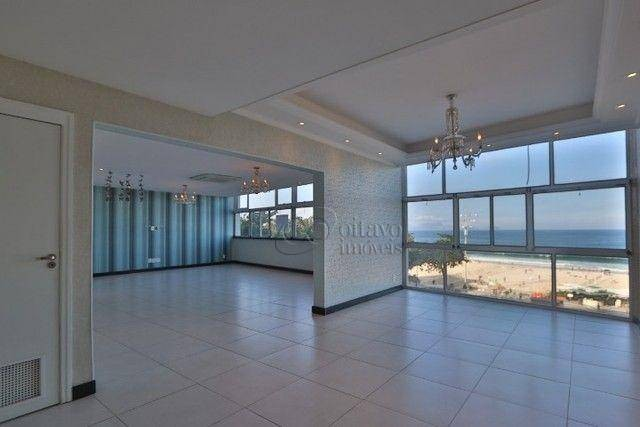 Atlantica Posto 5, vista panoramica 200m2 reformado salão duplo 3 quartos suite dependenci - Foto 2