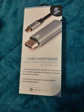 Monitor Dell 18.5? E1920H + Cabo DisplayPort / type C - Foto 5