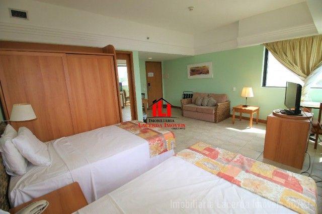 Flat Mobiliado com Vista p Rio no Tropical Hotel 6 Andar - Foto 6