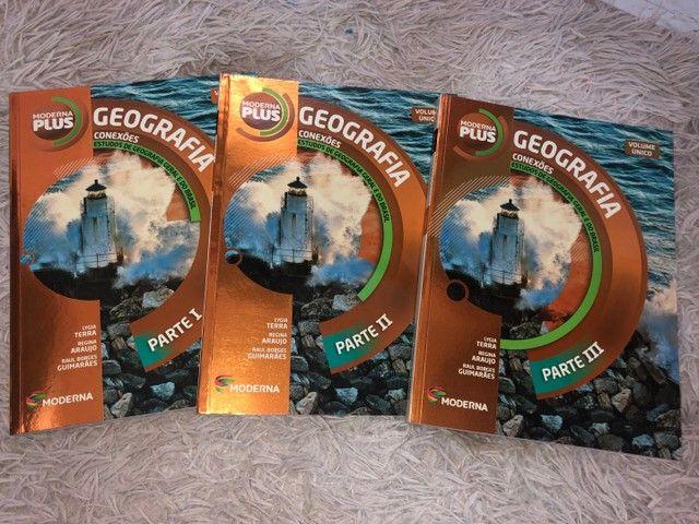 Livros de Geografia (box) - Moderna Plus - Foto 3