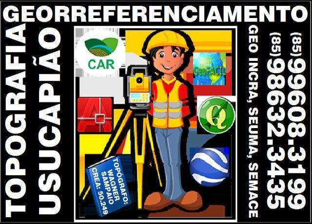 Topógrafo, com serviços completa para Ação de Usucapião, Topografia, Georreferenciamento - Foto 3