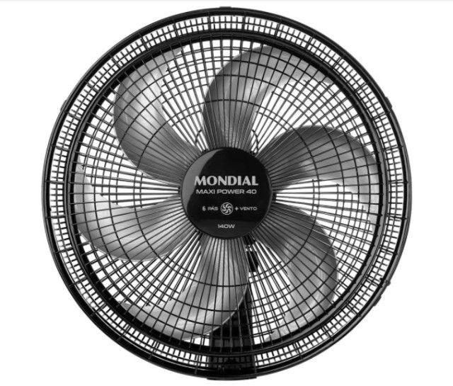 Ventilador de Mesa Mondial Maxi Power V-40-B 6 Pás, 40cm - Foto 2