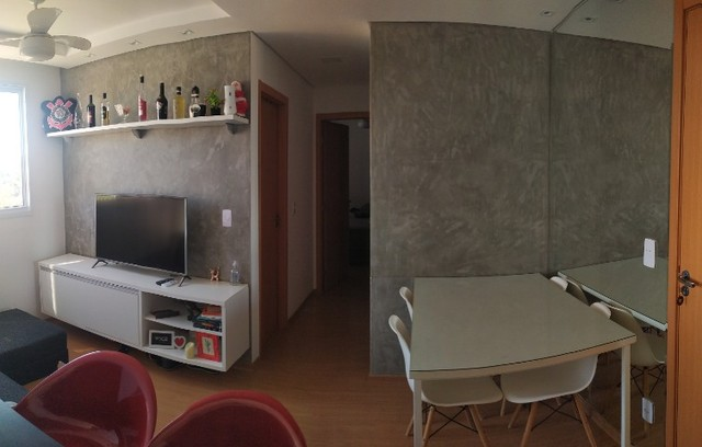 Apartamento Condominio Chapada das Oliveiras Planejado e Mobiliado
