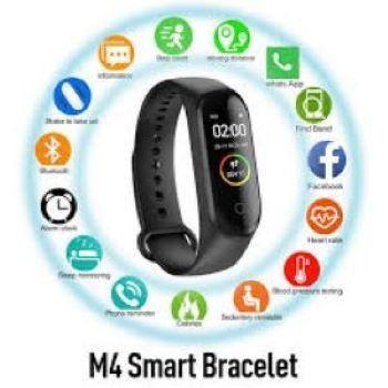 M4 Smartwatch Fitness exercicios +1 Pulseira Reserva - Pronta entrega - Foto 2