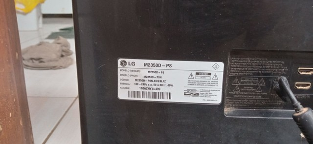 Lg Tv monitor para retirada de peças - Foto 4