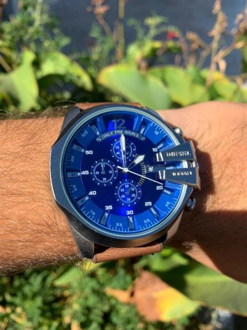 Relógios Diesel Couro (Novos Anápolis) - Foto 3