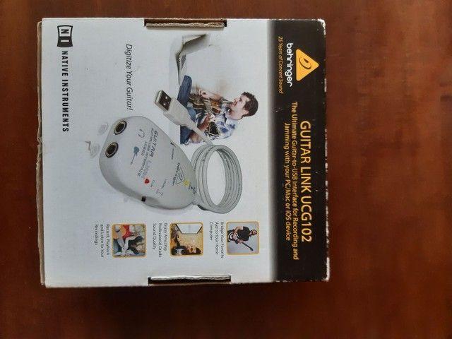 Interface de áudio USB UCG102 Behringer - Foto 6