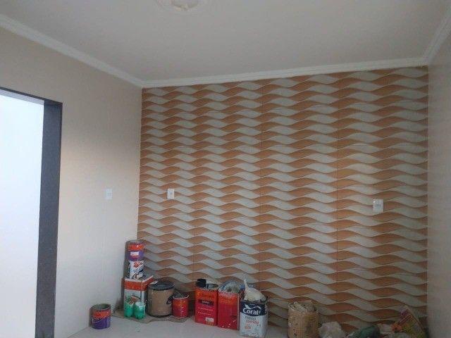 Casa Recém Construída - 3 Dormitórios - Bairro Lagoa Seca. - Foto 8