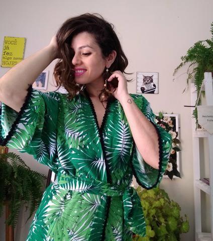 232e38b134d7 Kimono saida de praia - Roupas e calçados - Capão da Imbuia ...