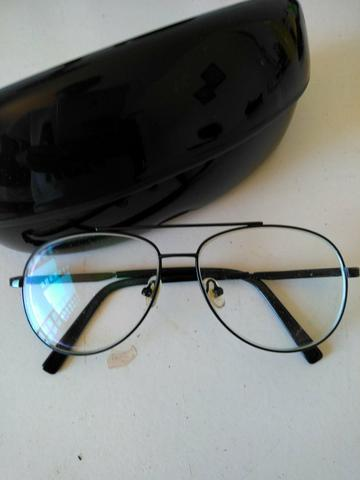 Armação óculos de grau aviador - Bijouterias, relógios e acessórios ... a743d71567