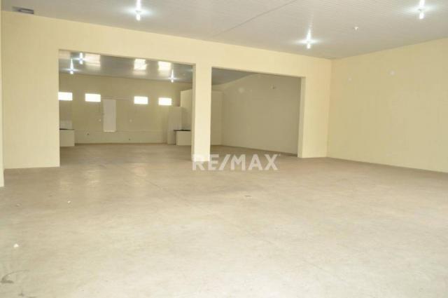 Barracão para alugar, 313 m² por r$ 4.970/mês - vila são jorge - presidente prudente/são p - Foto 4