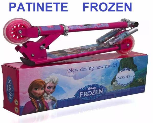 Patinete Infantil 3 rodas ( Frozen,Barbie)