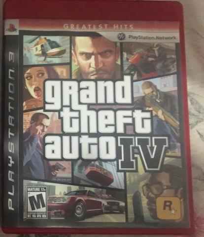 Jogo GTA IV PS3