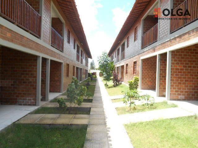 Apartamento com 2 dormitórios, 64 m² - gravatá/pe