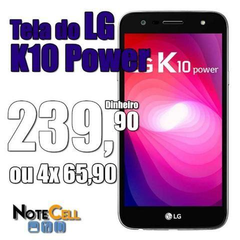 Tela do LG K10 Power