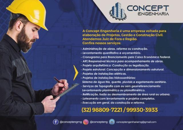 Concept Engenharia - Excelência em Engenharia Civil - Foto 2