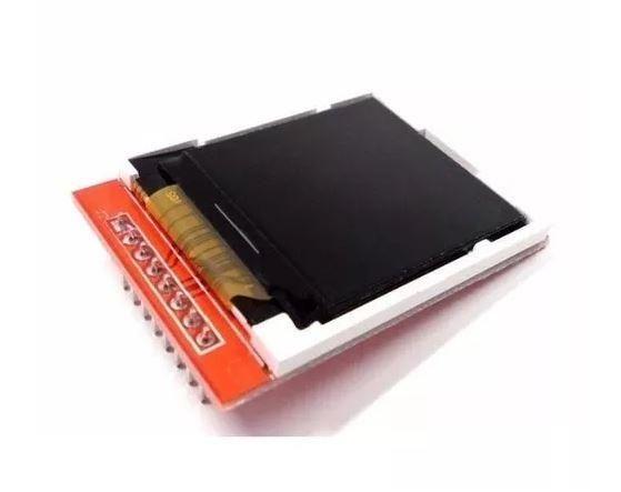 COD-AM165 Display Lcd Tft 1.44 Pol 128x128 Pixels Nokia 5100 Modulo Arduino Robotica