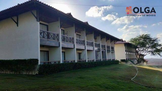 Flat residencial mobiliado à venda, Gravatá - PE