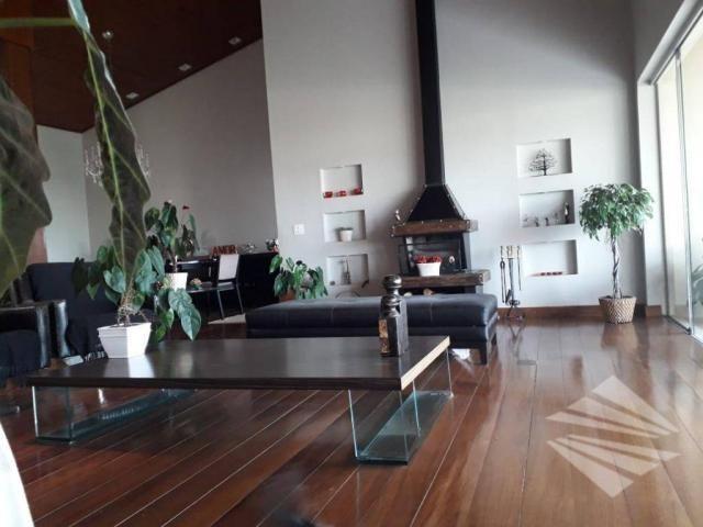 Casa com 4 dormitórios para alugar, 550 m² por r$ 7.000/mês - chácaras cataguá - taubaté/s - Foto 18