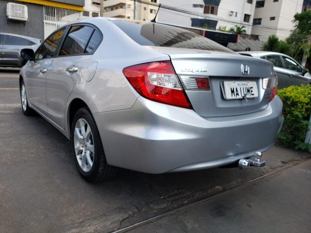 Honda Civic EXR 2.0 13/14 flex aut. prata - Foto 6
