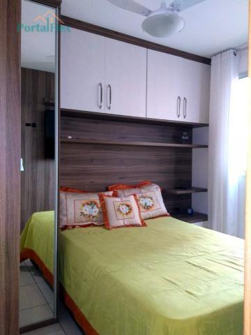 Apartamento à venda com 2 dormitórios em Morada de laranjeiras, Serra cod:4278 - Foto 8