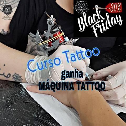 Curso de Tatuagem Básico com Máquina Tattoo
