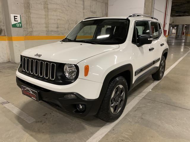 Jeep renegade sport diesel 2016 4x4 c/ bancos em couro extra!!! - Foto 2