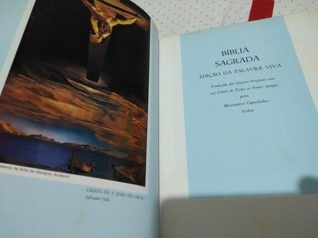 Bíblia sagrada edição da palavra viva - Foto 3