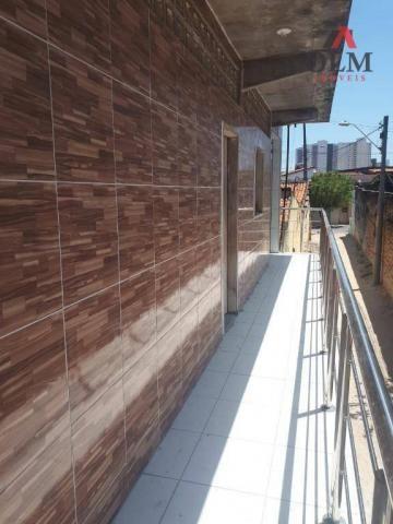 Apartamento com 1 dormitório para alugar, 28 m² por R$ 500/mês - Benfica - Fortaleza/CE - Foto 10
