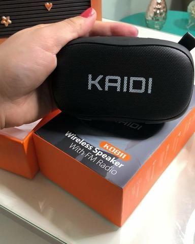 Promoção Caixa de Som KAIDI Original - Foto 2