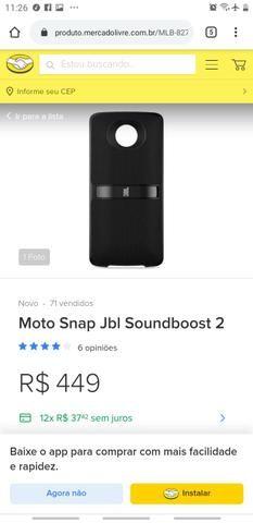MOTO SNAP JBL Sound Boost2 original!
