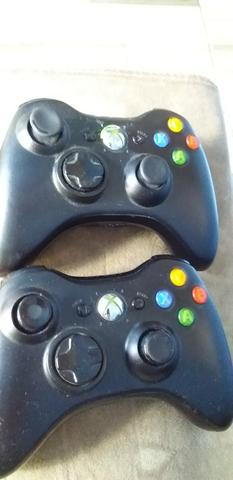2 controles x-box 360 + receiver