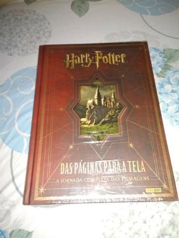 Harry Potter Das Páginas Para A Tela Novo Lacrado