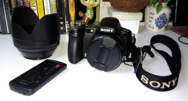 Sony Cyber Shot - DSC - H50- (com acessório extras) Oportunidade - Foto 2