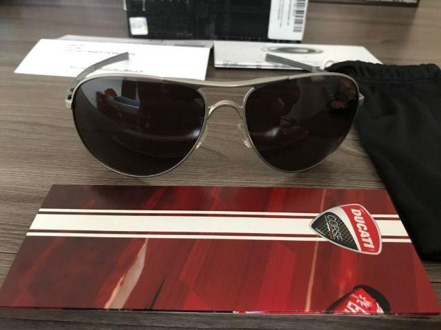 Óculos Oakley Plaintiff Polarizado Ducati - Foto 2