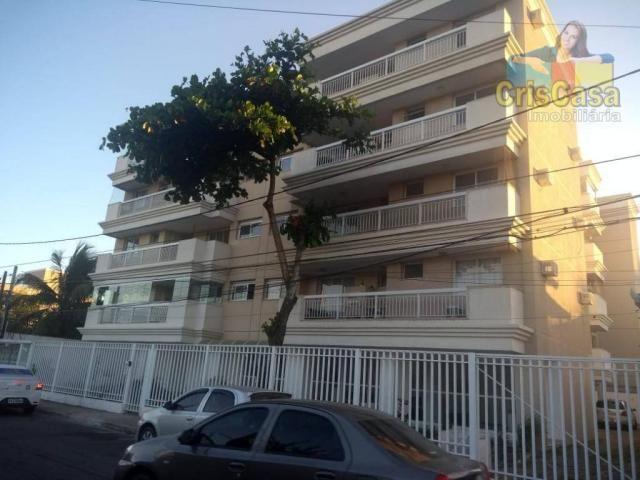 Apartamento com 3 dormitórios para alugar, 100 m² por R$ 1.500,00/mês - Costazul - Rio das