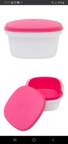 Tupperware multipla pink nunca usada/nova