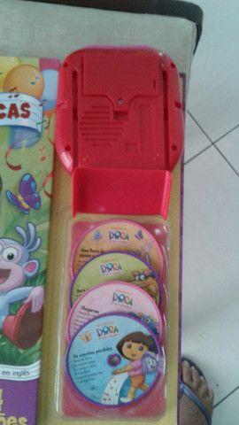 Brinquedo Dora a pilha novissimo vd/tr - Foto 5