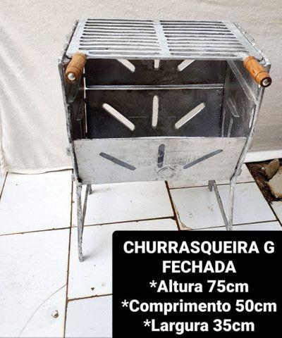 CHURRASQUEIRAS DESMONTÁVEIS  - Foto 3