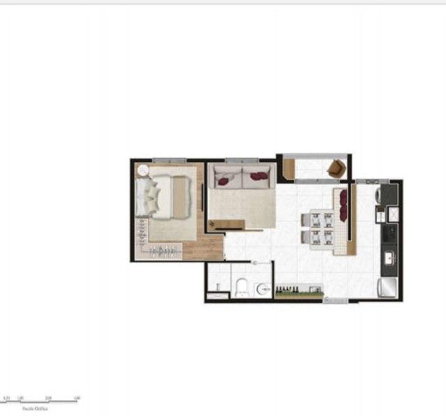Apartamento no Tatuapé 42 m², e 44 m² - Foto 14