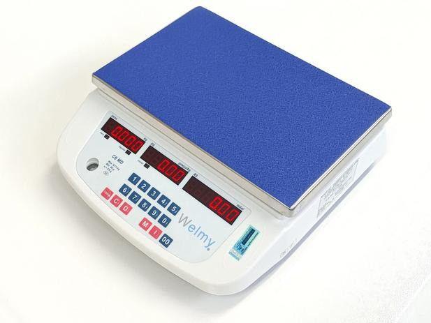 Balança Computadora Eletrônica Bat Led 15kg c/ selo do inmetro (faltando) - Foto 2